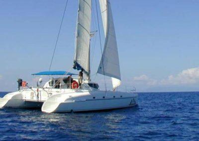 Le catamaran à Maurice Ile Maurice